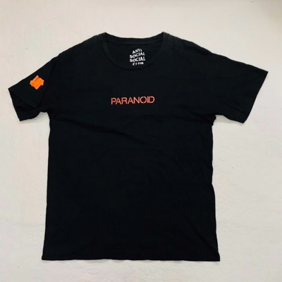 Anti Social Social Club X Undefeated Paranoid Tee
