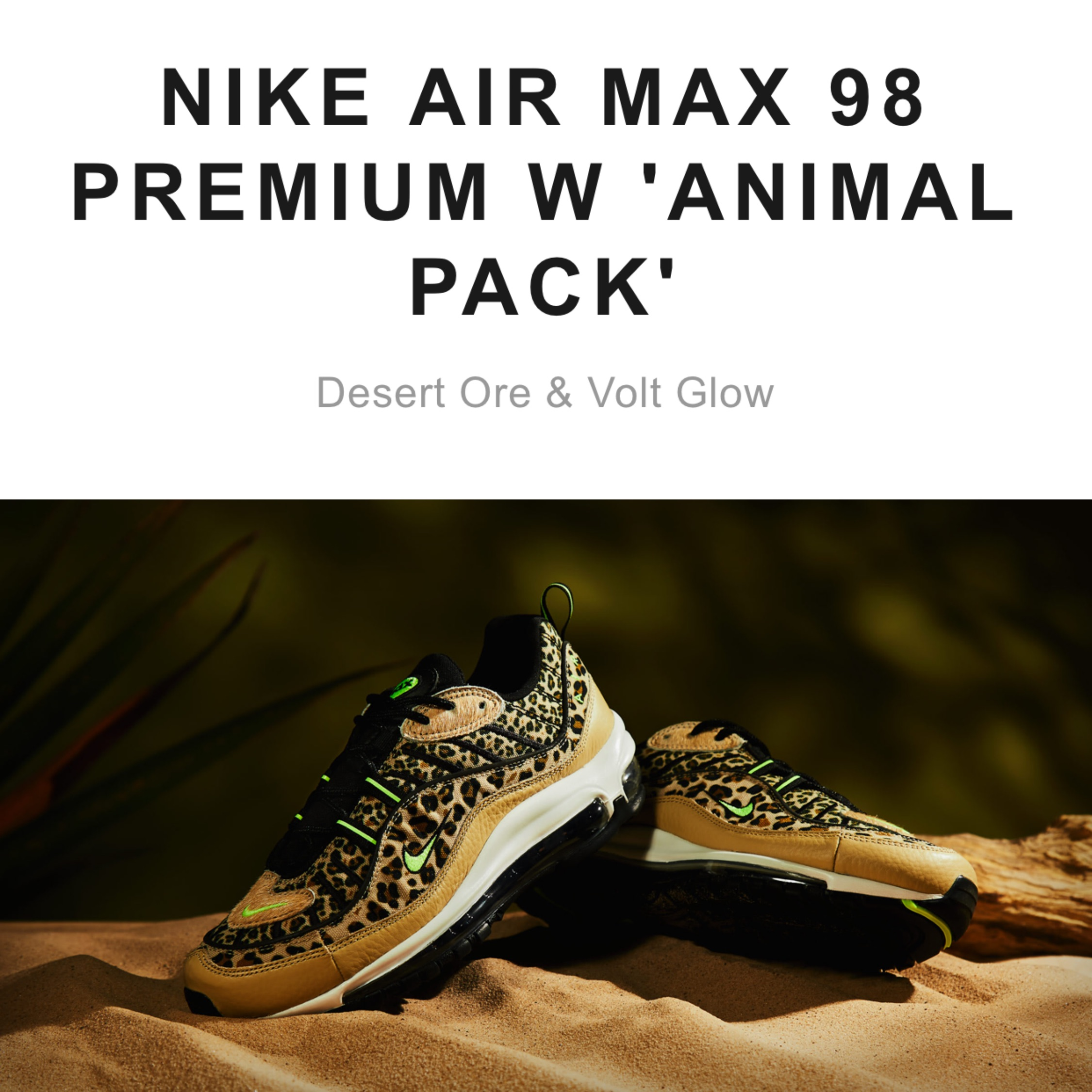 Nike Air Max 98 Premium W 'Animal Pack' | in Whickham, Tyne and Wear | Gumtree