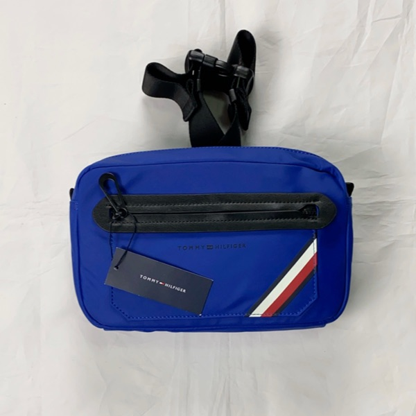Tommy Hilfiger Blue Nylon Bag