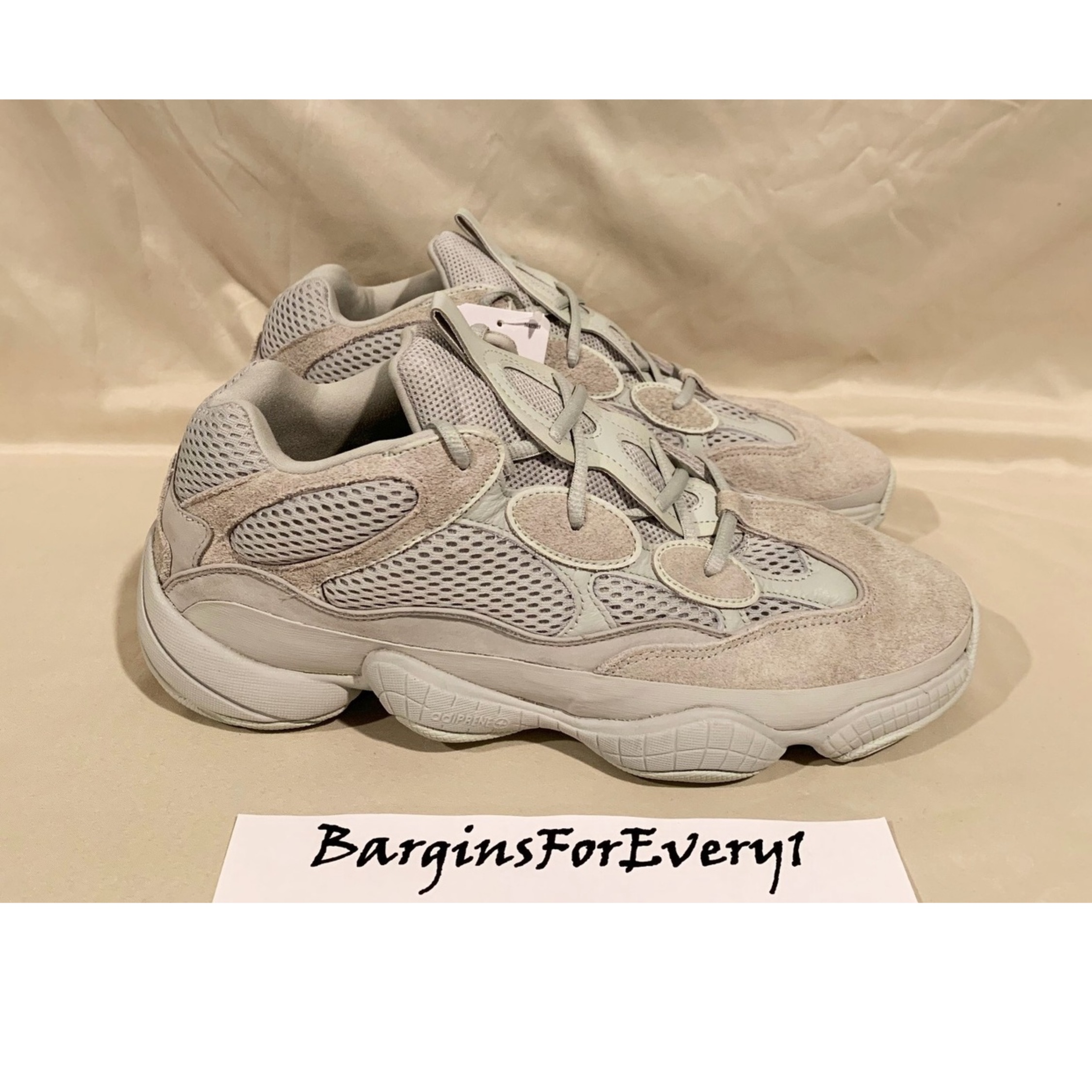 pretty nice affeb f046f New Adidas Yeezy Boost 500 Salt