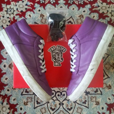 Alife Everybody Mid Pro-Leather Purple size 9 US
