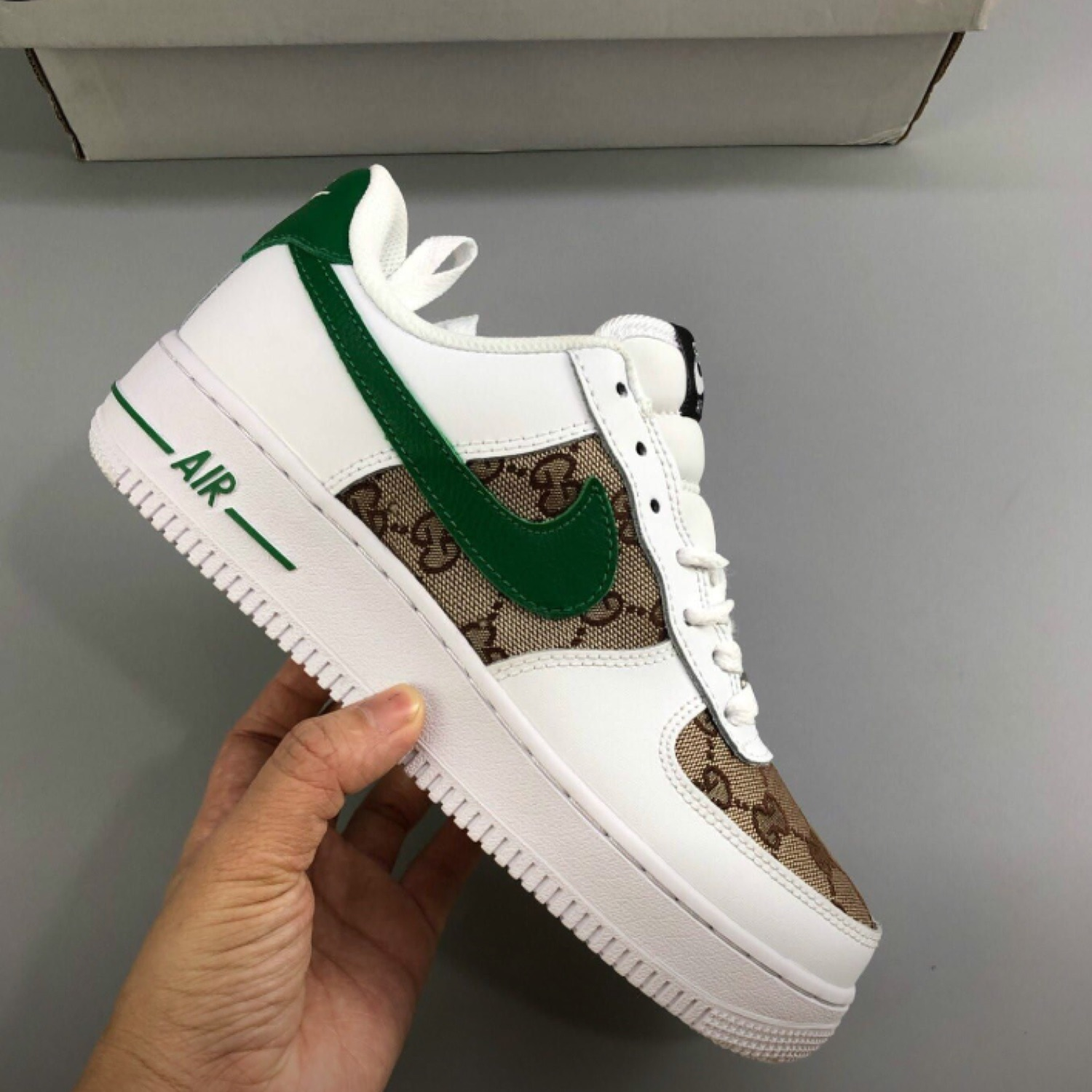 gucci low gucci custom air force 1