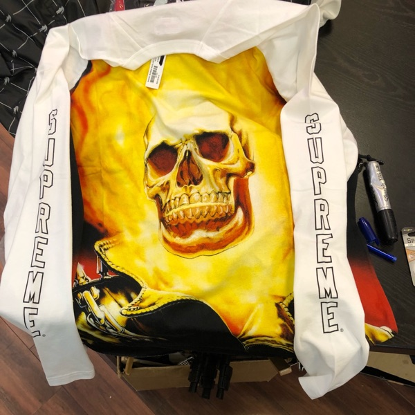 Supreme Ghost Rider Long Sleeve