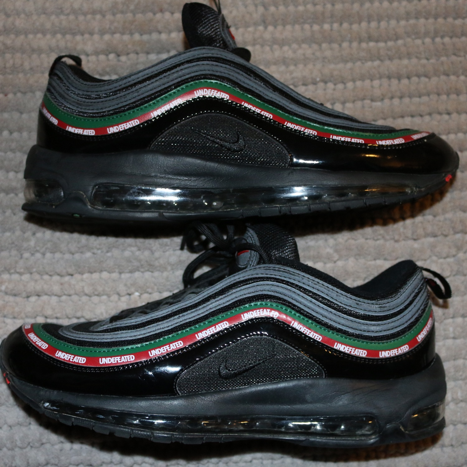 info for 32216 43025 Nike X Undefeated Air Max 97