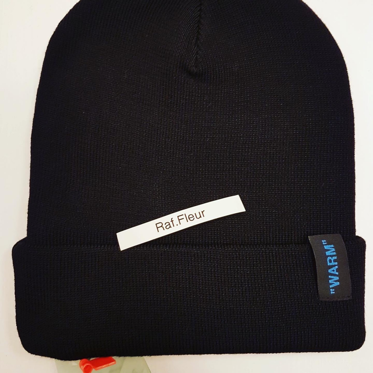 Off White Patch Logo Wool Beanie