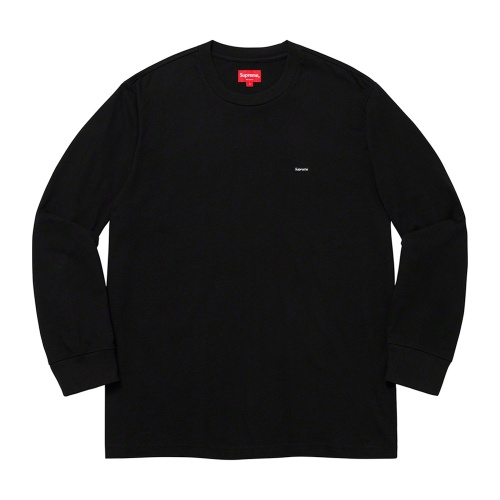 Supreme Small Box Longsleeve Tee Black