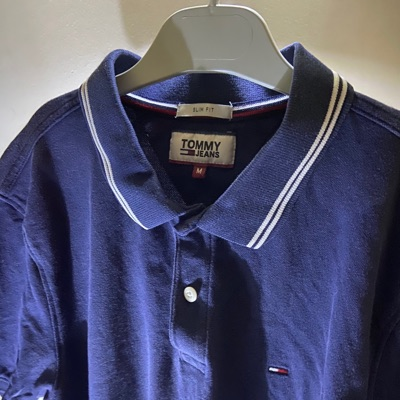 Polo Tommy Jeans Bleue Marine