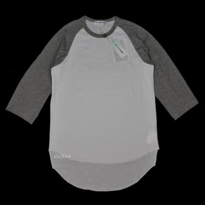 Cdg 3/4 Sleeve Baseball T-Shirt Nwt