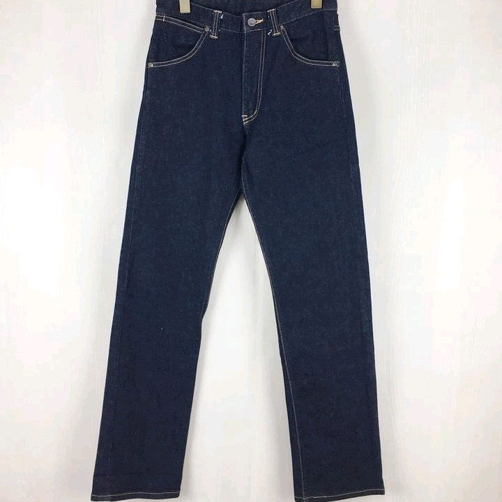 Bape Denim Indigo Straight Cut Zip Fly