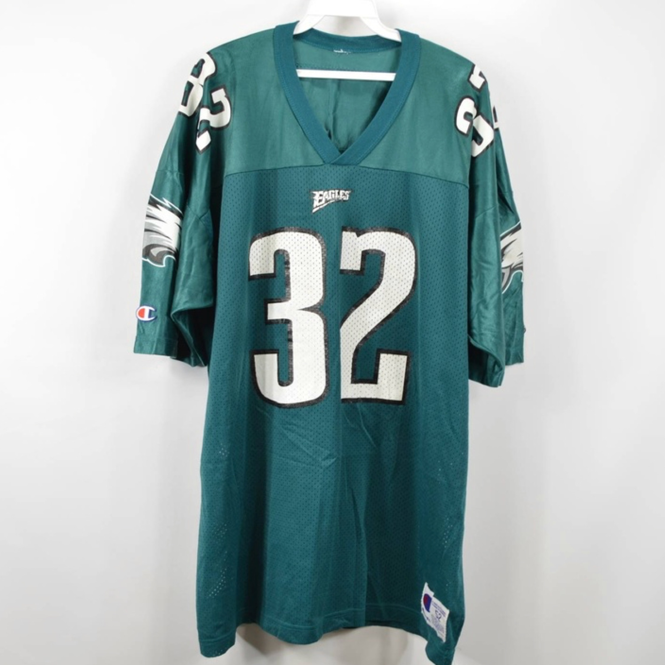 reputable site 66f51 13628 Champion Vintage Usa Football Jersey Eagles