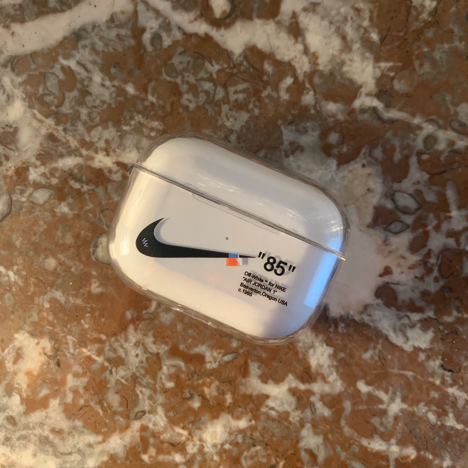 Airpods Pro Case The Ten Nike X Off White
