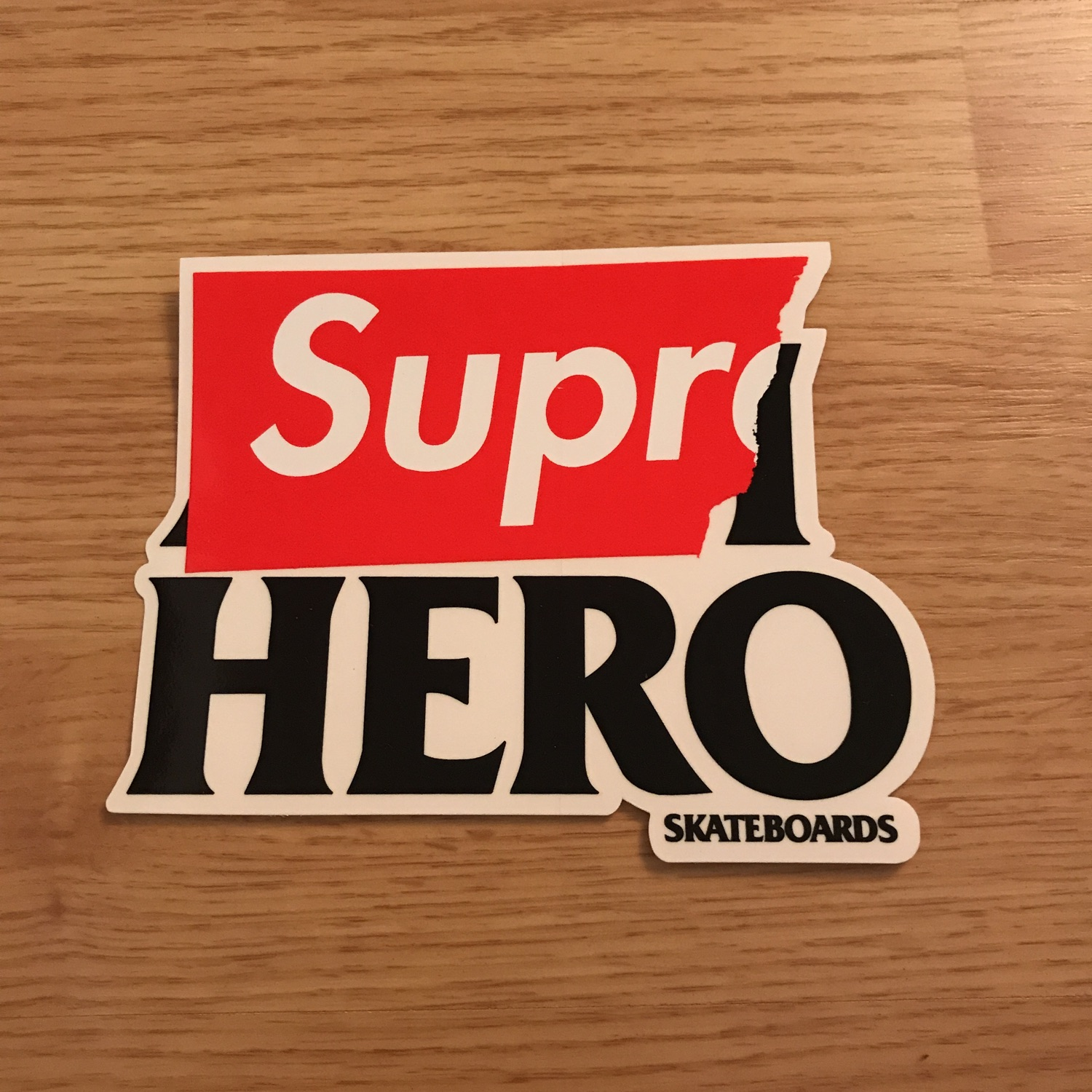 Supreme Antihero Sticker Xl Rare