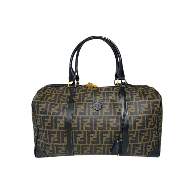 Vintage Fendi Monogram Hold-all Duffle Bag