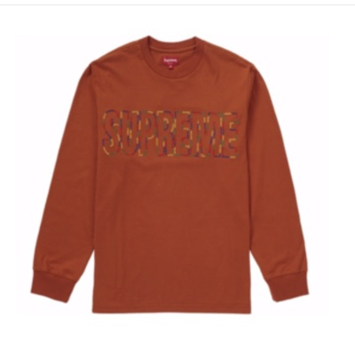 Supreme International L/S Shirt Rust