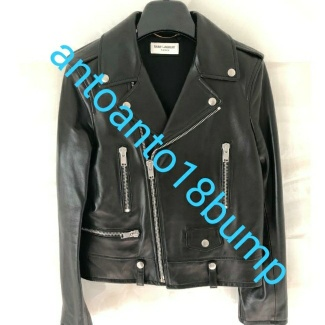 Saint Laurent Classic Leather Jacket Gently Used