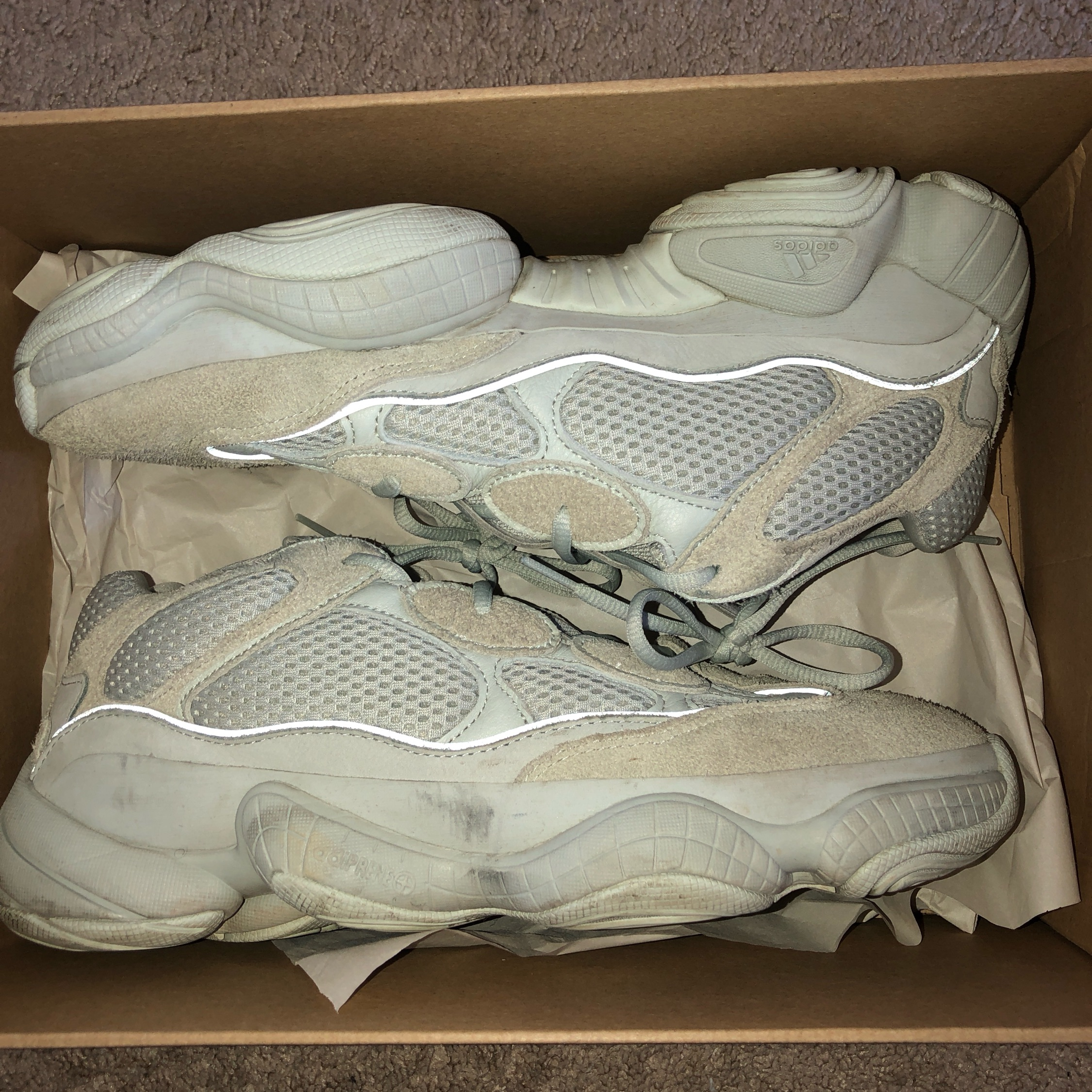 buy popular c6d54 635e2 Adidas Yeezy Boost 500 (Trades Welcome)