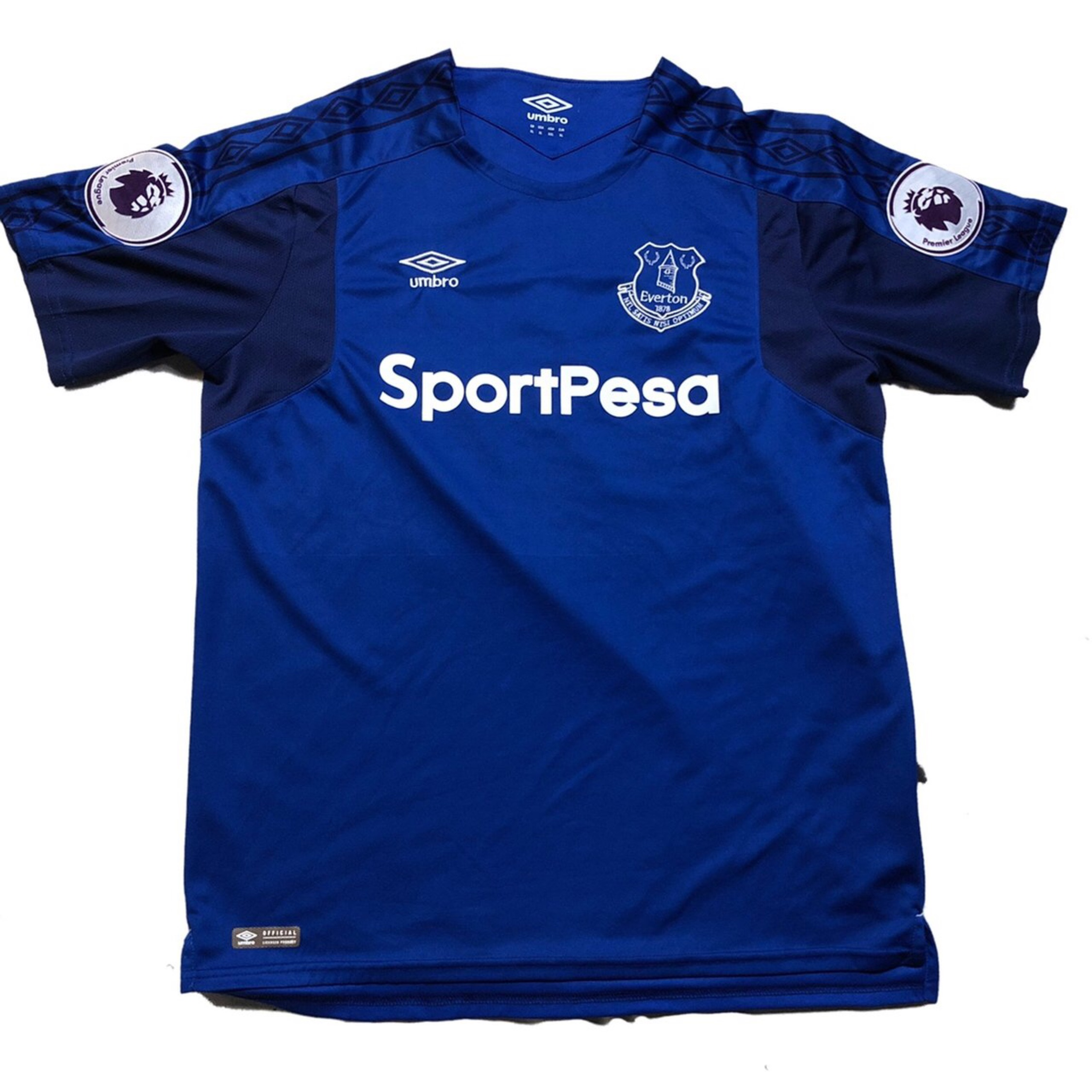 cheap for discount 73fe8 f9b50 Official Umbro Everton Soccer Jersey