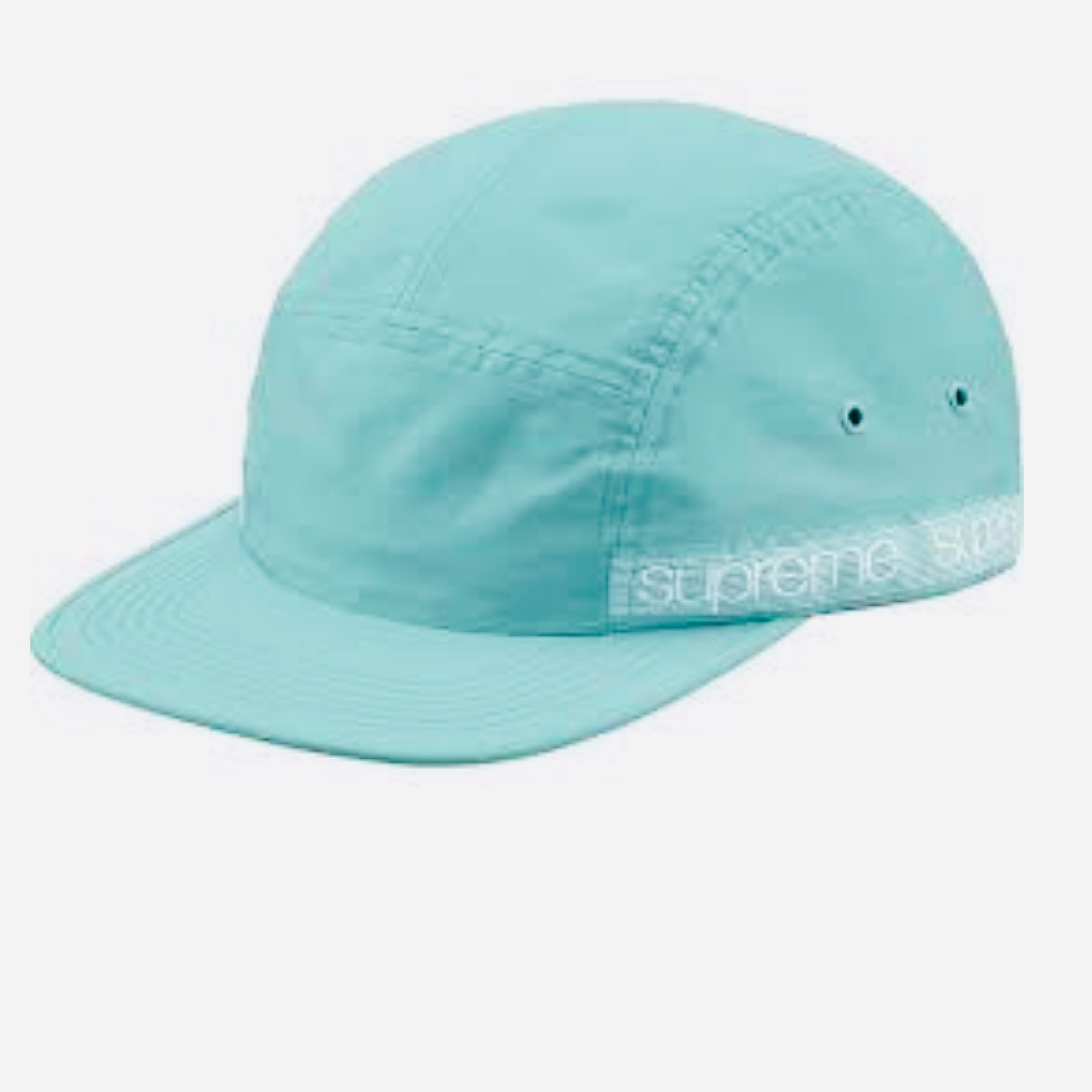 Supreme Tonal Taping Camp Cap Pale Grn