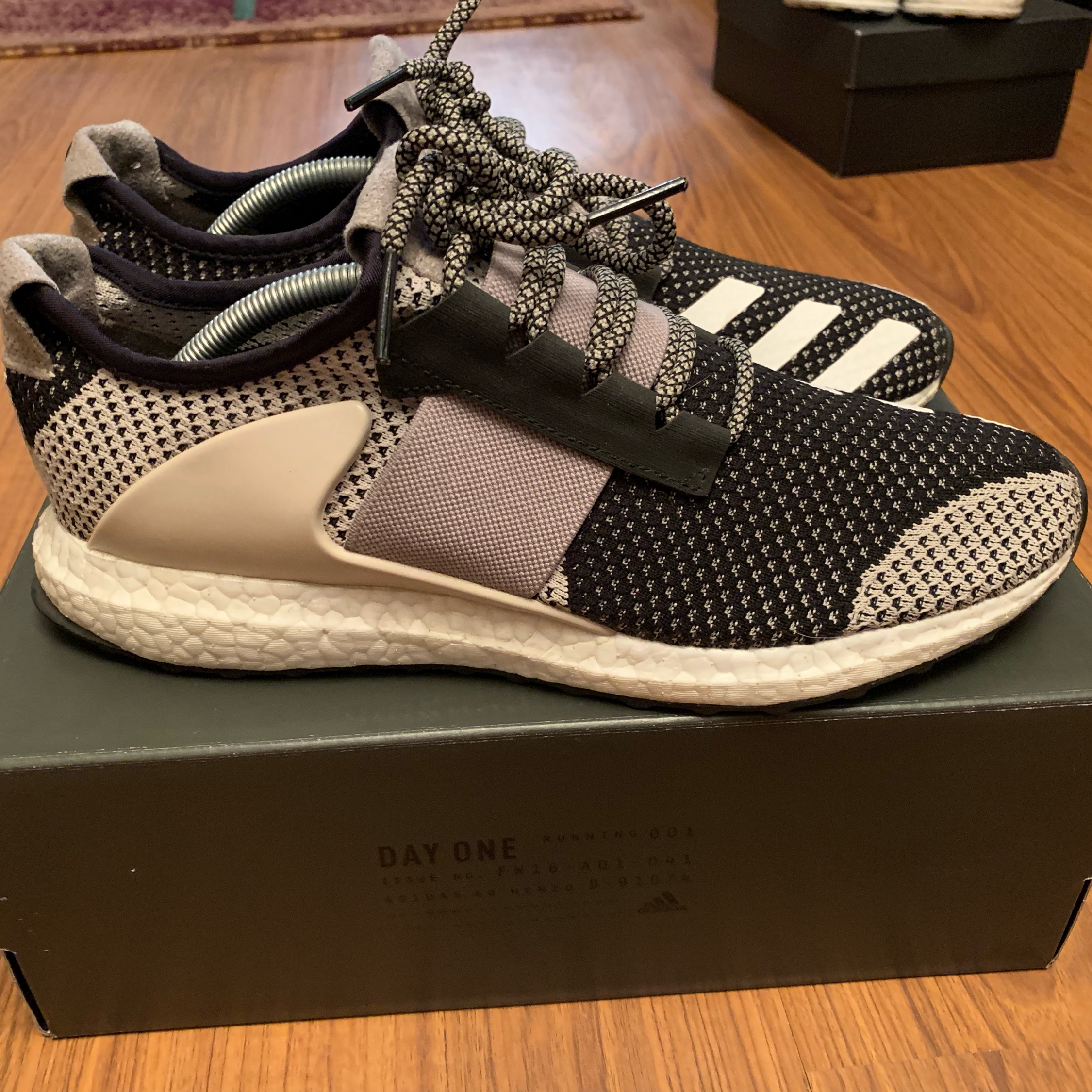 Ado Ultra Boost Day One Clear Brown