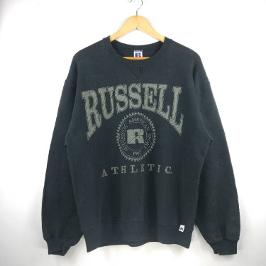 Russell Athletic Vintage Pullover Sweatshirt Made In Usa