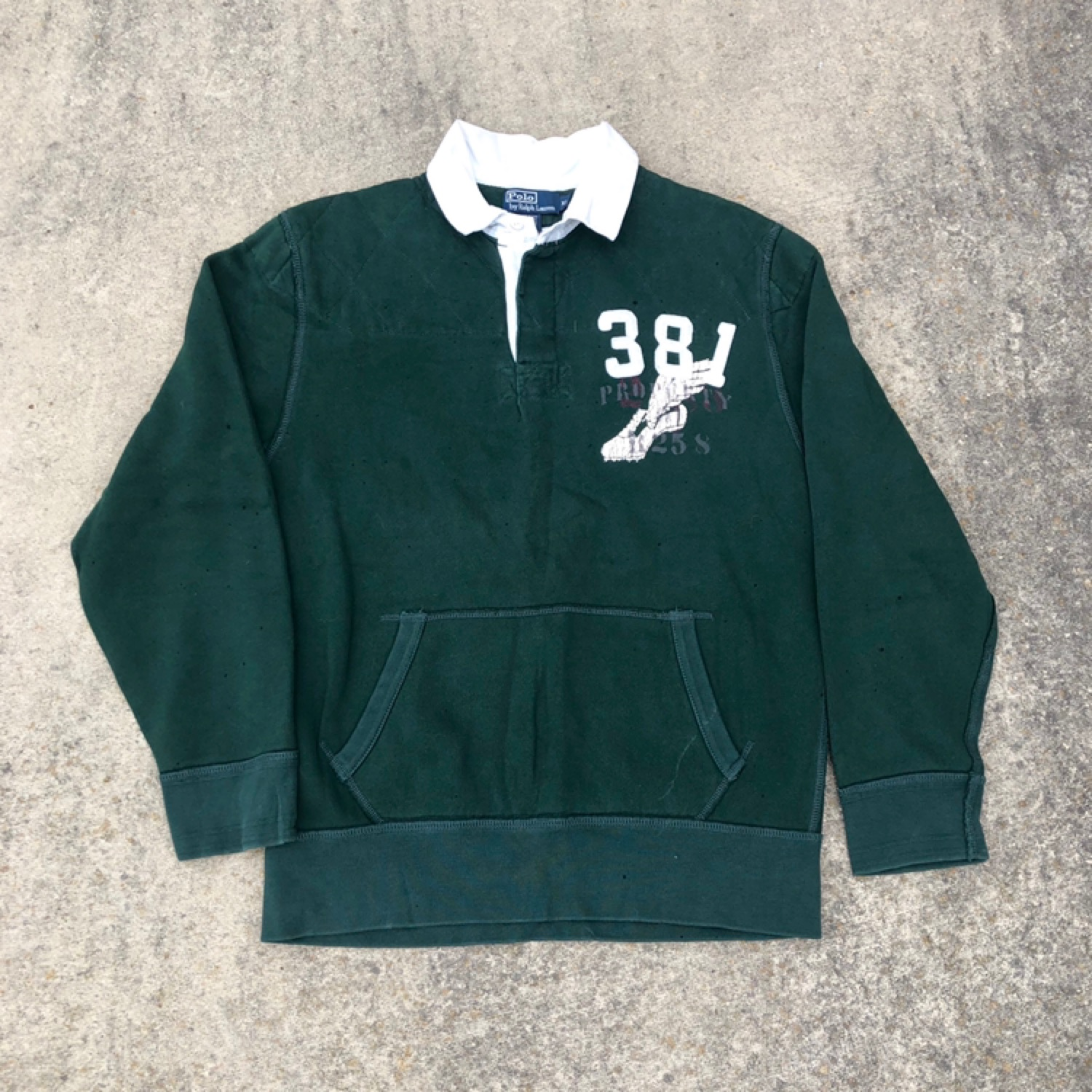 Vintage Ralph Lauren Polo P Wing Rugby
