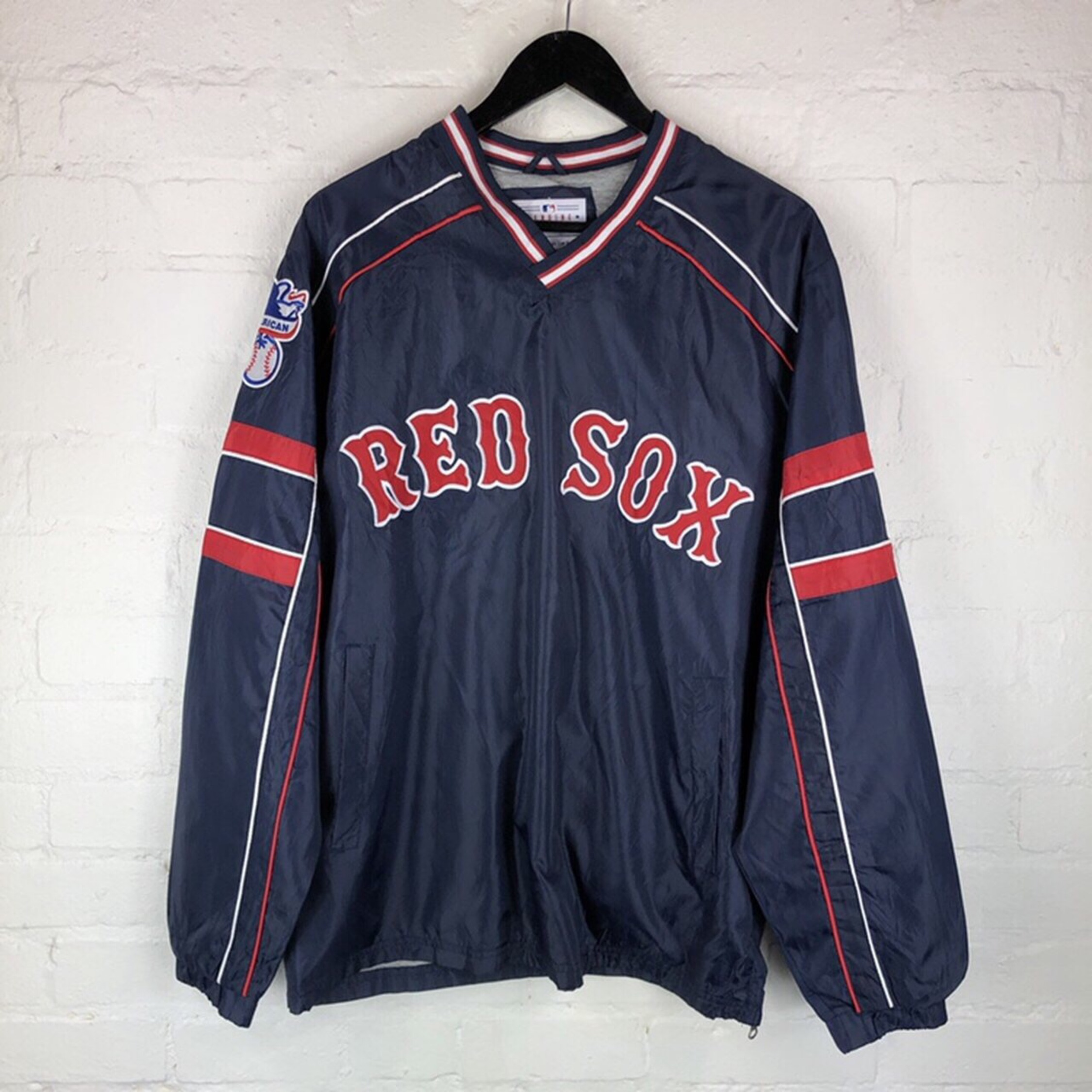 d8fe9b42e Vintage Boston Red Sox Shirt - Nils Stucki Kieferorthopäde