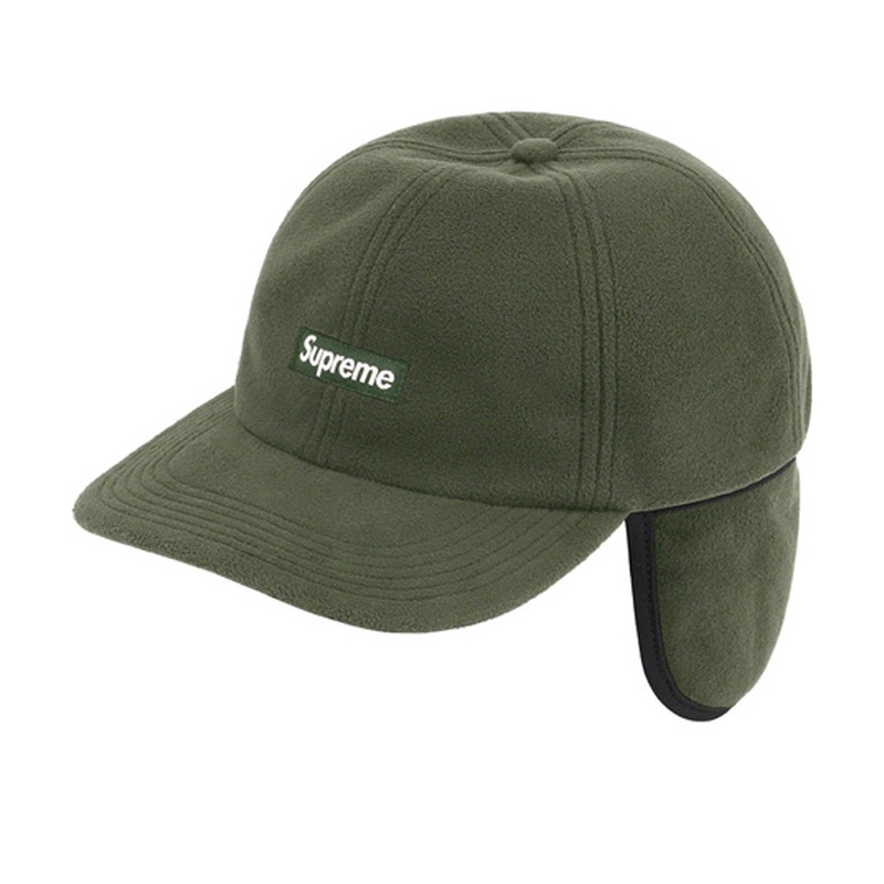Supreme Windstopper Small Box Earflap 6 Panel Olive