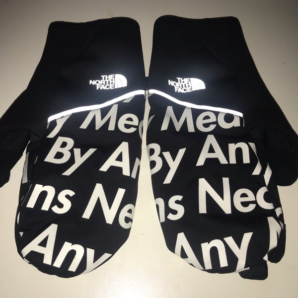 Fw15 Supreme The North Face Bamn Winter Gloves