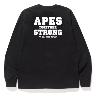 Bape Ats (Apes Together Strong) Long Sleeve Tee