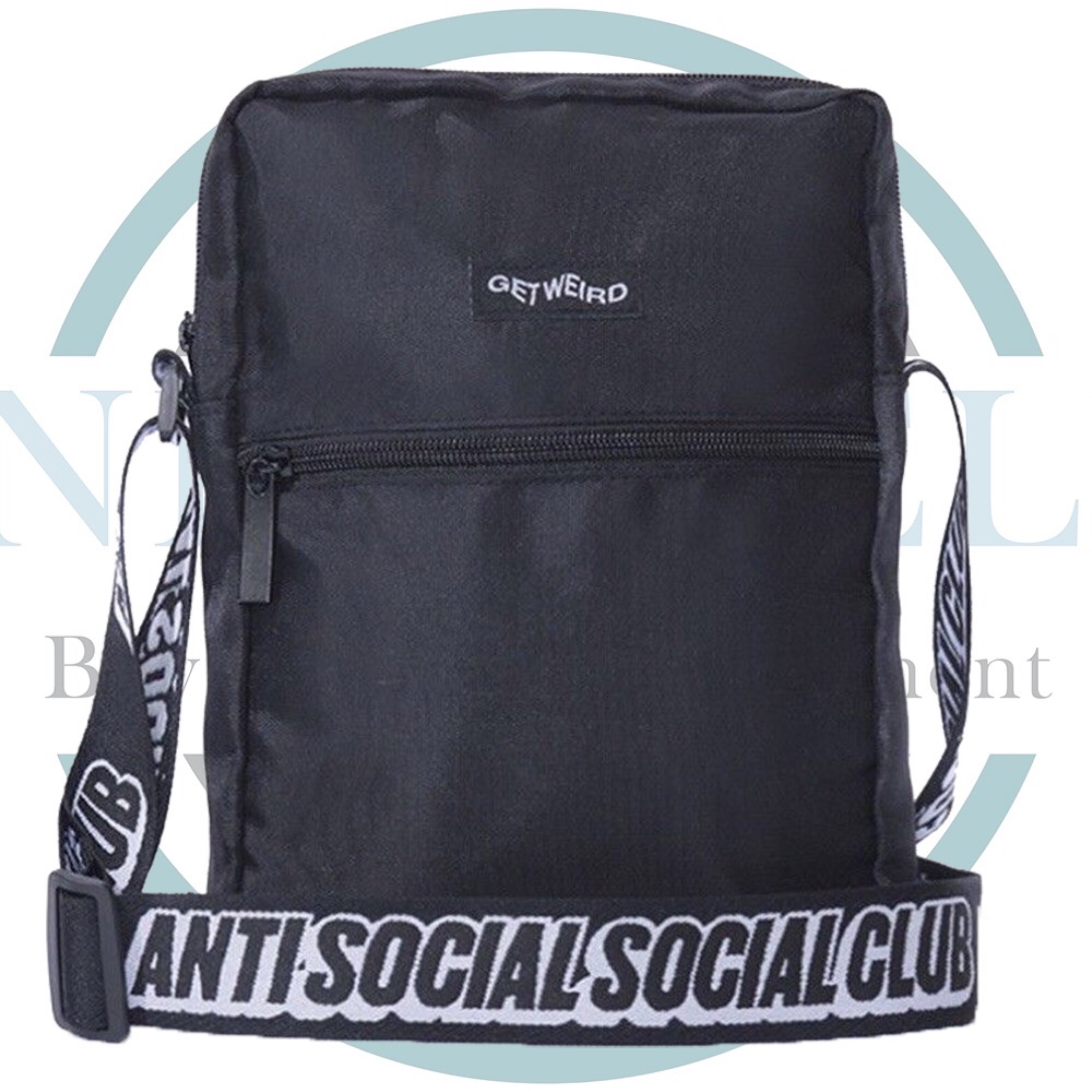 cf4a2813 Assc Black Side Bag Black. £83. Supreme Spotlight Keychain Clear