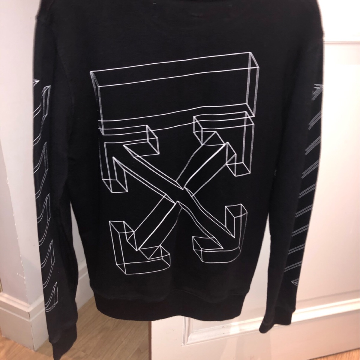 OFF-WHITE Class of 2013' Embroidered Sweatshirt Sage