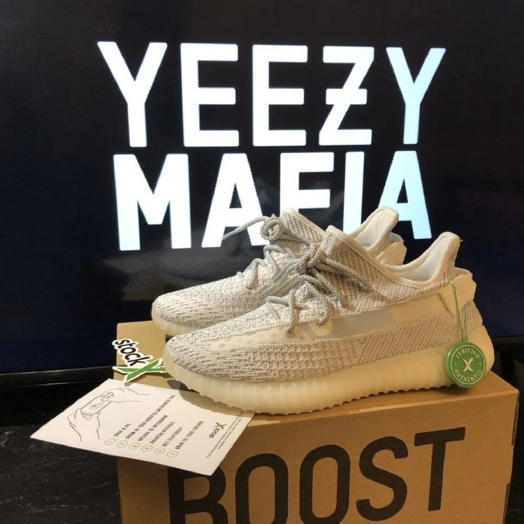 yeezy static reflective resell