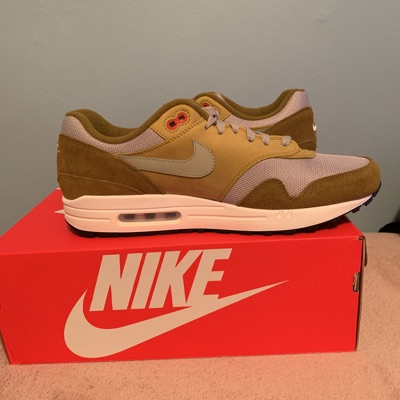 Nike Air Max 1 Curry Pack (Olive)