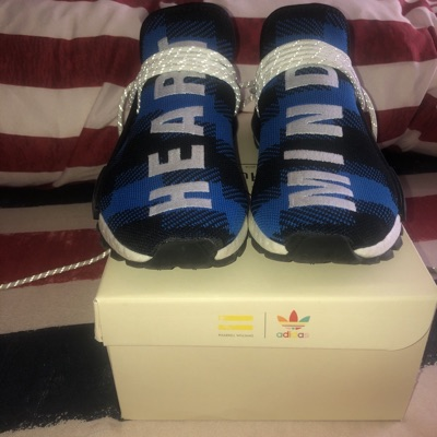 Pharrell Wiliams Blue X Bbc Has To Be Sold