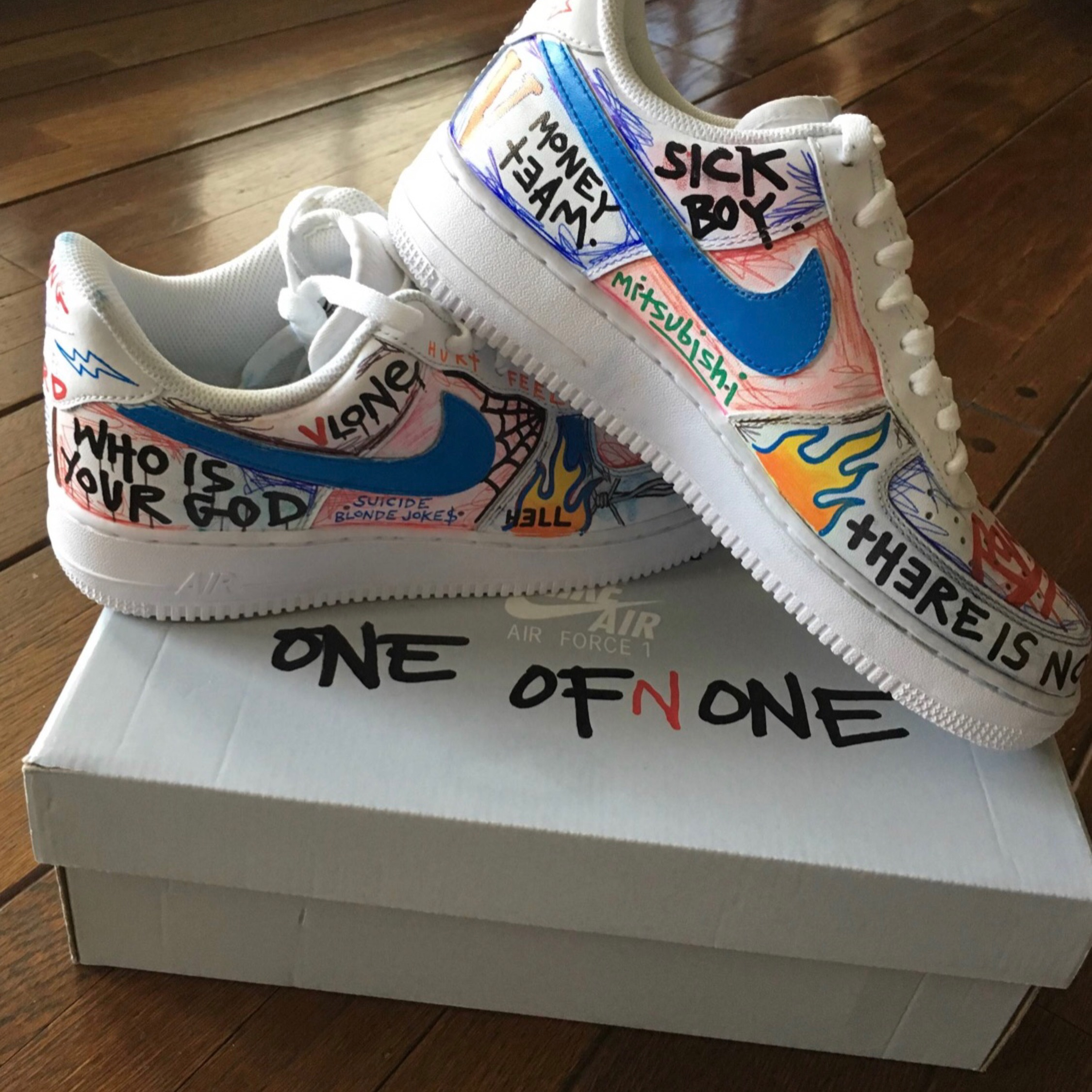 Nike Air Force 1 Vlone Custom