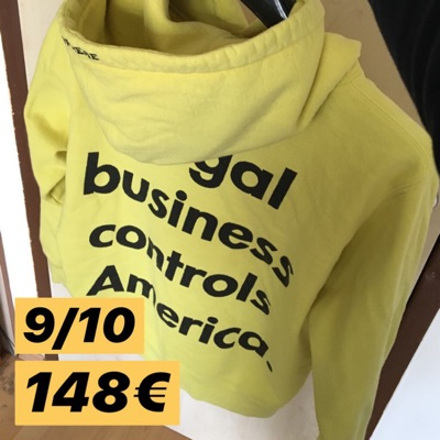 Supreme Illegal Budiness Controls America Hoodie