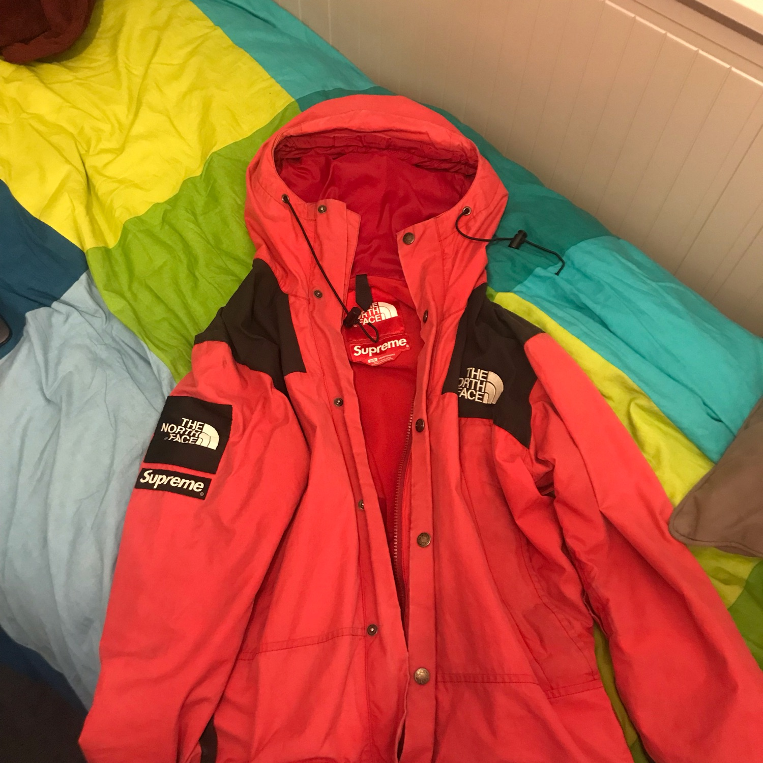 45674b4d0 Supreme X The North Face Waxed Cotton Jacket 2010