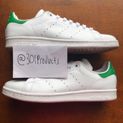"demasiado Extensamente Arriesgado  Adidas Stan Smith ""Fairway"" Size 9"