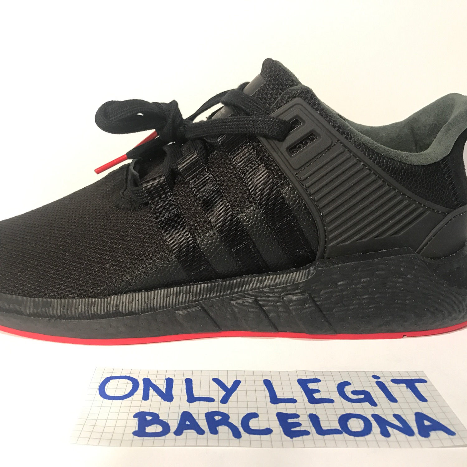 sneakers for cheap 6d71e 13107 Adidas Eqt Support 93/17 Red Carpet Black 12 Us