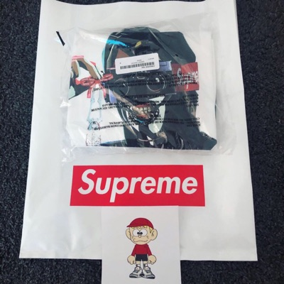 Supreme Creeper Tee - White Size M