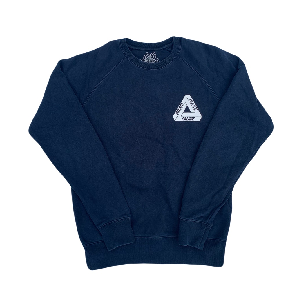 Palace OG crewneck sweatshirt in navy