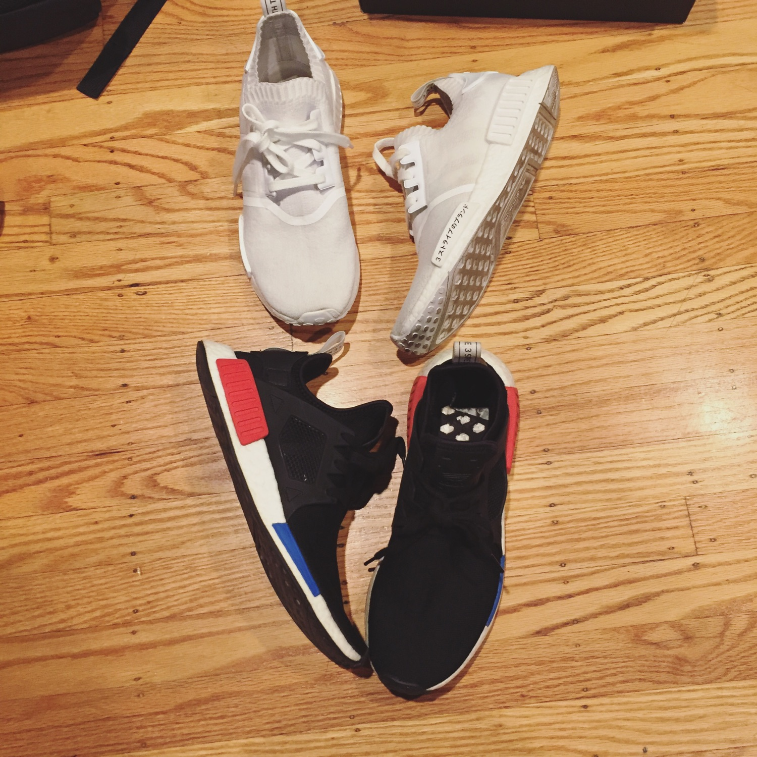 online store 294a3 fc362 Adidas Nmd Lot Size 9.5 10 Supreme Bape Off White
