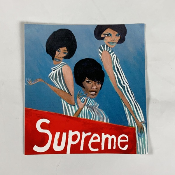 Supreme Tabboo Sticker