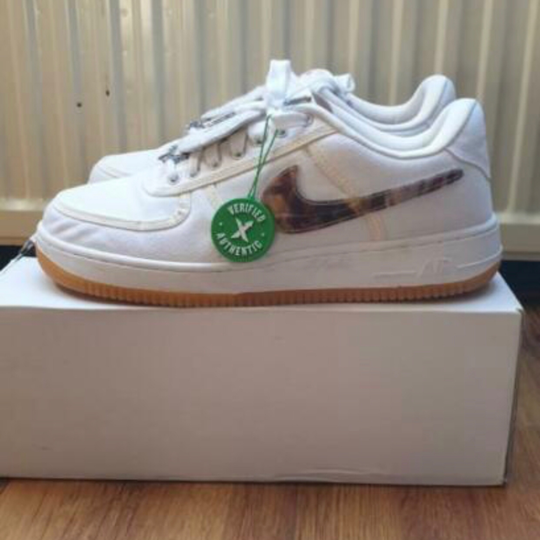 Travis Scott Air Force 1 (Sail) Us 11