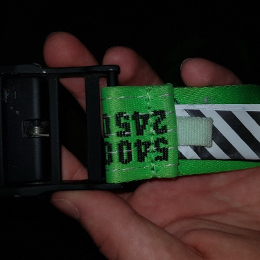 OFF-WHITE Industrial Belt (SS19) Brilliant Green