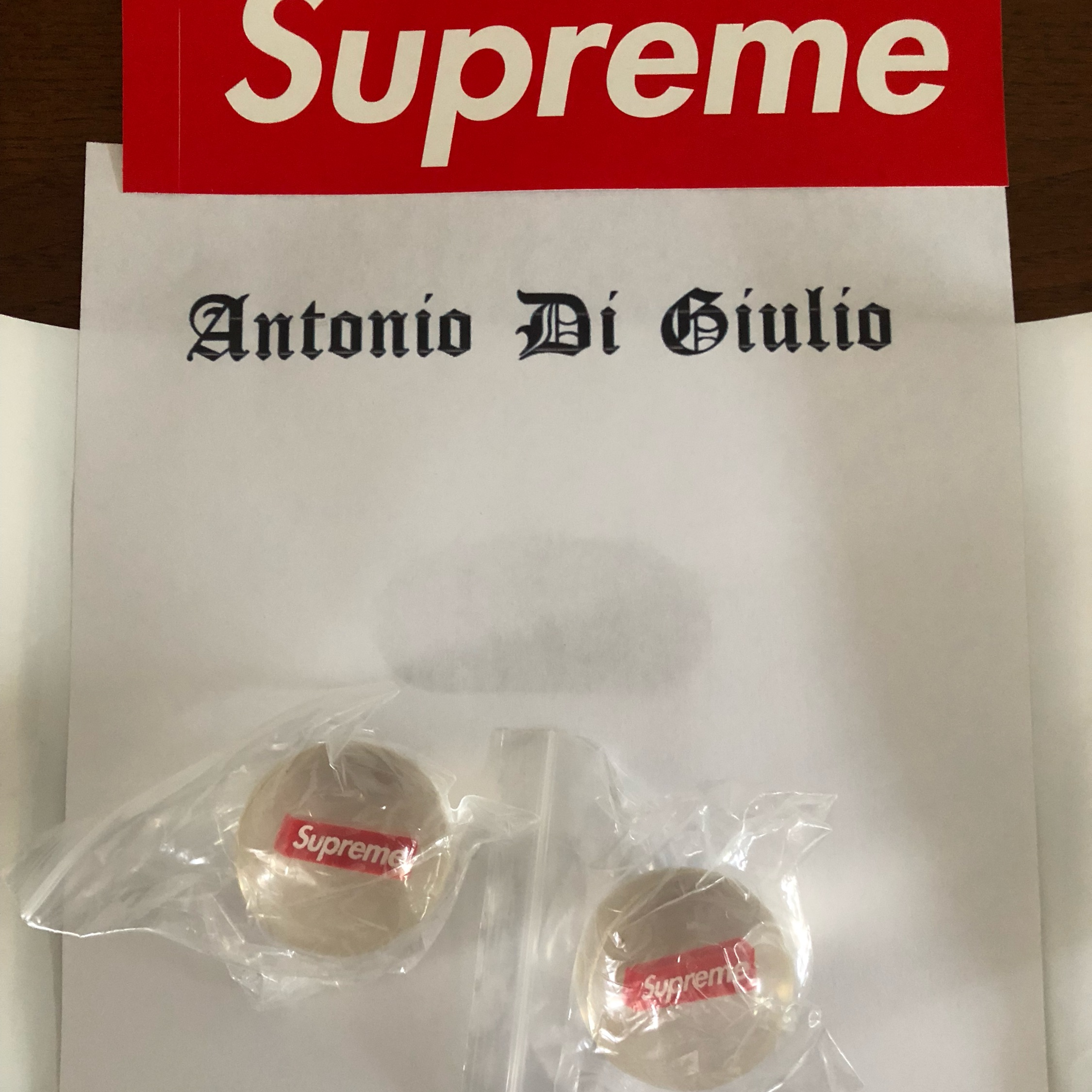 Shower Cap And Bouncy Ball New SUPREME Accessories Pack