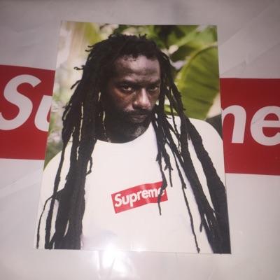 Supreme Buju Banton Sticker