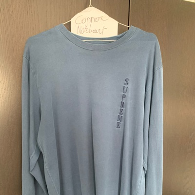 Supreme Overdyed L/S Fw17