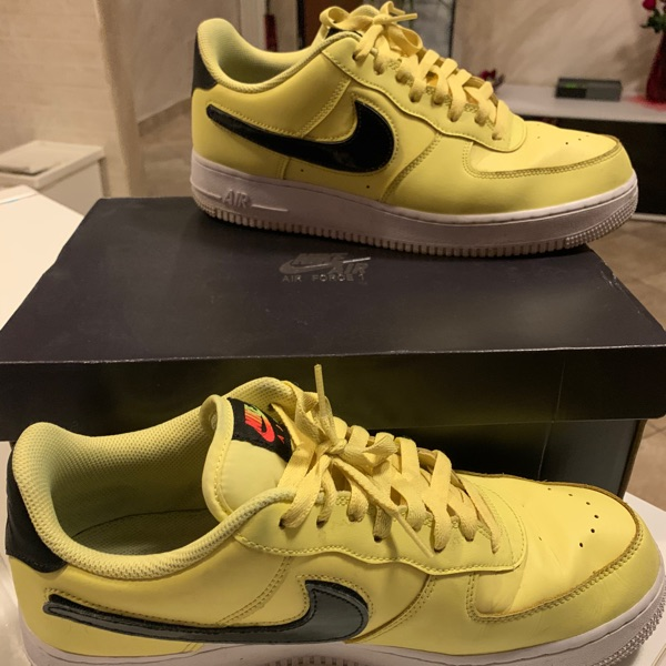 Af1 Swoosh Pack Yellow Pulse