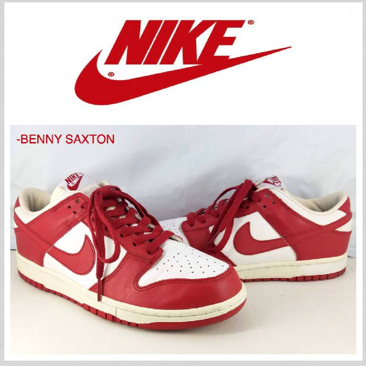 best service cd457 456e7 2005 MEN'S NIKE DUNK LOW VARSITY RED/WHITE SIZE 8